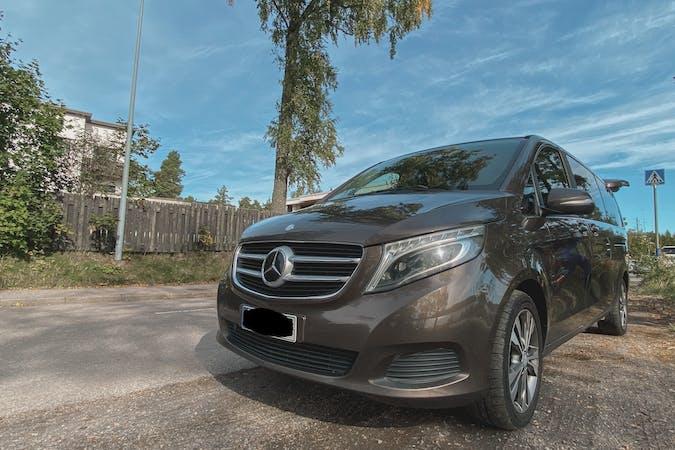 Mercedes V-Classn halpa vuokraus GPSn kanssa lähellä 02600 Espoo.