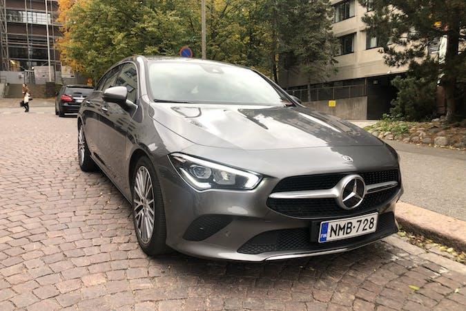 Mercedes CLAn halpa vuokraus GPSn kanssa lähellä 00100 Helsinki.