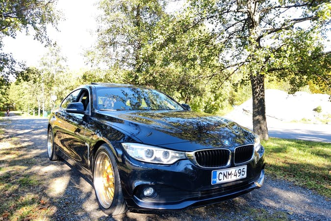 BMW 4 Seriesn lalpa vuokraus lähellä 33840 Tampere.