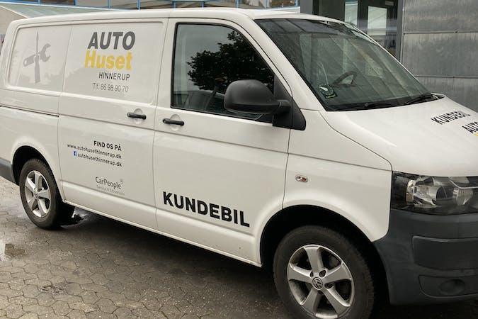Billig billeje af Volkswagen Transporter nær 8382 Hinnerup.