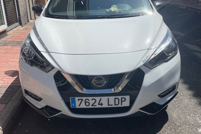 Alquiler barato de Nissan Micra con equipamiento GPS cerca de 35200 Telde.