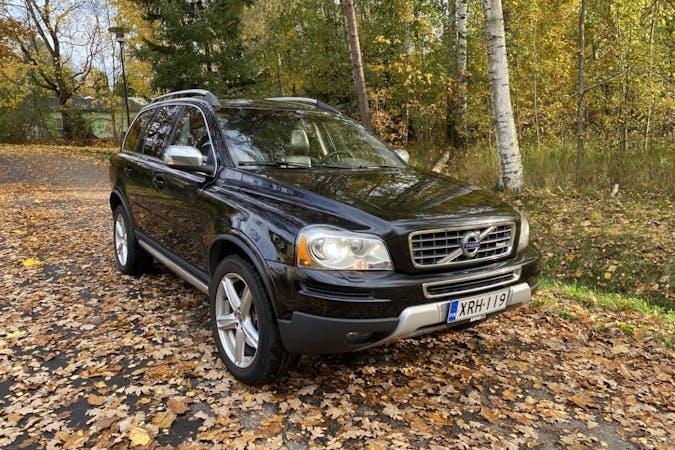 Volvo XC90n halpa vuokraus Isofix-kiinnikkeetn kanssa lähellä 01300 Vantaa.