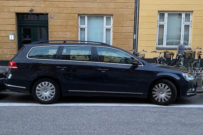 Billig billeje af Volkswagen Passat nær 2100 København.