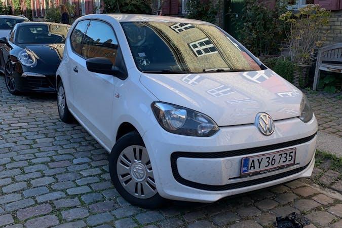Billig billeje af Volkswagen UP! nær 1300 København.