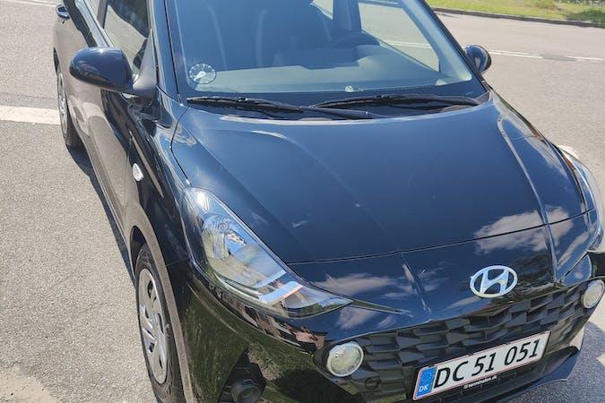 Billig billeje af Hyundai i10 med Bluetooth nær 2500 København.
