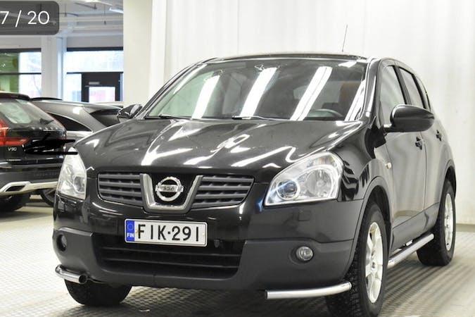 Nissan Qashqain lalpa vuokraus lähellä 01600 Vantaa.