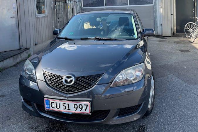 Billig billeje af Mazda 3 med Anhængertræk nær 2300 København.