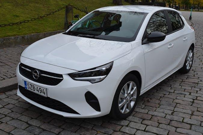 Opel Corsan lalpa vuokraus lähellä 20540 Turku.