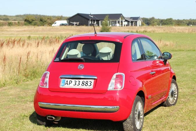Billig billeje af Fiat 500 Lounge 1.2 med Bluetooth nær 2100 København.