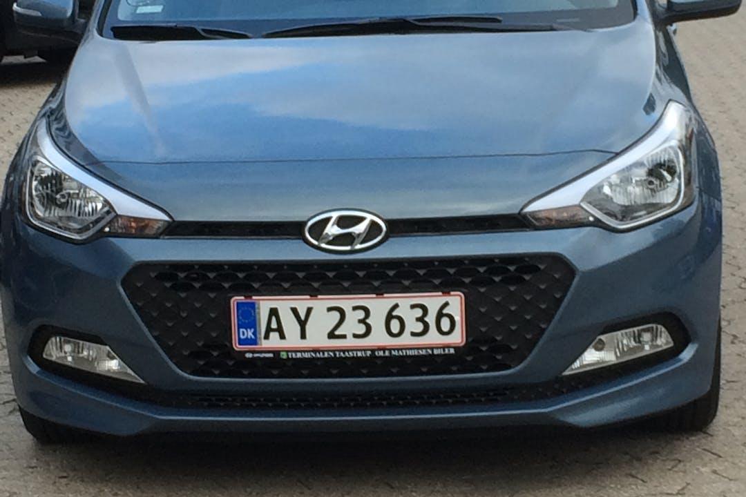 Billig billeje af Hyundai I20 nær 7700 Thisted.