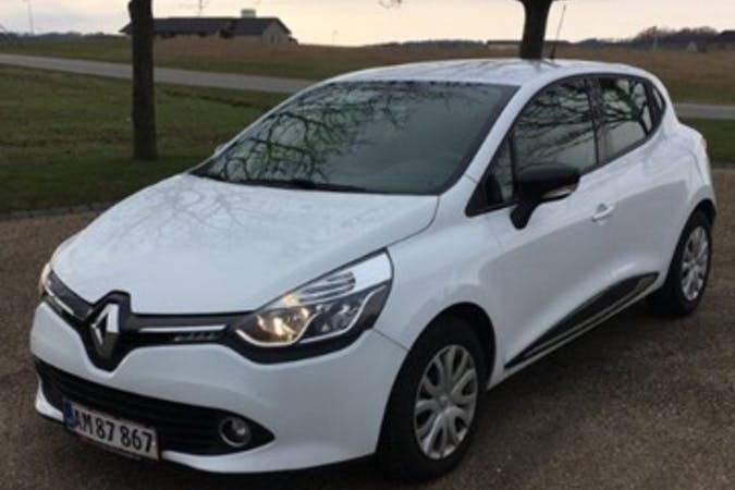 Billig billeje af Renault Clio 0,9 Express 90 HK  med GPS nær 8200 Aarhus.