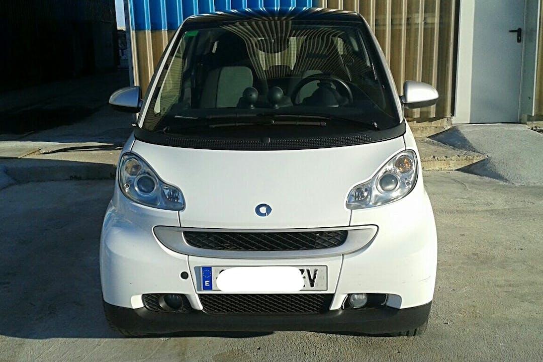 Alquiler barato de Smart Fortwo Coupe Passion 62 cerca de 08029 Barcelona.