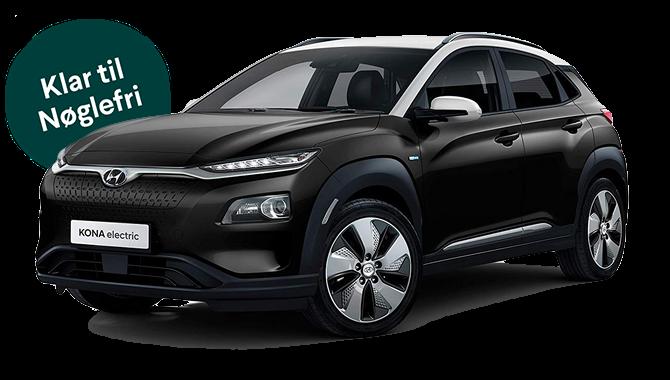 Billig privatleasing af Hyundai KONA EV 204 HK 64 kWt Trend   GoMore