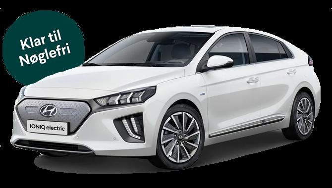 Billig privatleasing af Hyundai IONIQ EV 136 HK Trend | GoMore