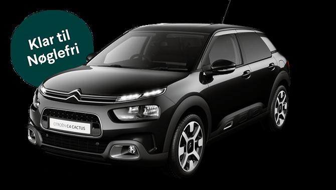 Billig privatleasing af Citroën C4 Cactus 1.2 Puretech Platinum 110HK | GoMore