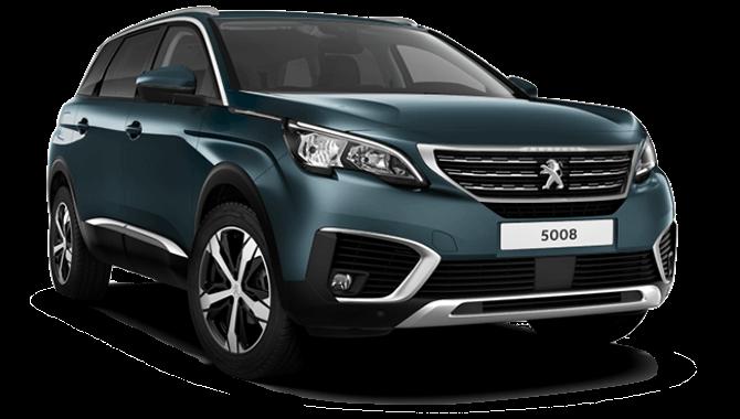 Billig privatleasing af Peugeot 5008 1.5 Allure Ltd BlueHDi 130 HK EAT8 | GoMore