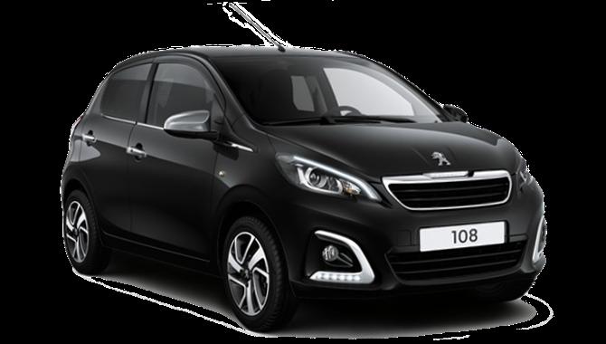 Billig privatleasing af Peugeot 108 Allure+ 1.0 E-VTi man | GoMore