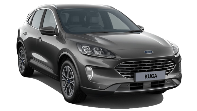 Billig privatleasing af Ford Kuga PHEV Titanium CVT 225HK | GoMore