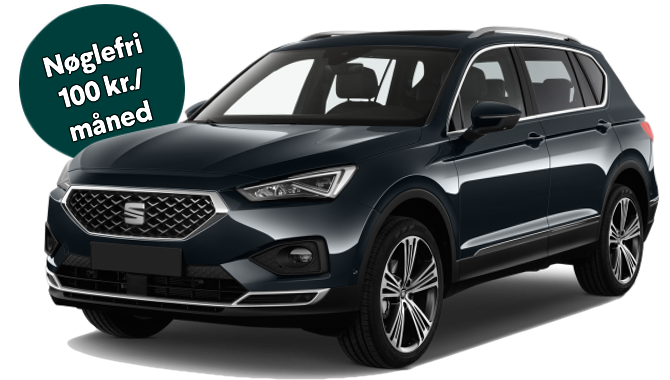 Billig privatleasing af Seat Tarraco Xcellence 2.0 TSi 190HK 4x4 Aut.  | GoMore