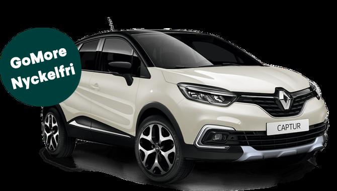 Prisvärd privatleasing från Renault Captur 0,9 TCe 90 Intens | GoMore