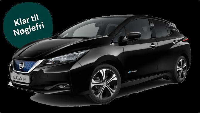 Billig privatleasing af Nissan Leaf e+ Tekna 62 kWh MY19 215HK | GoMore