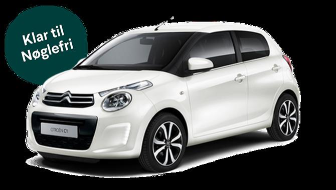Billig privatleasing af Citroën C1 1.0 VTR 72 HK | GoMore