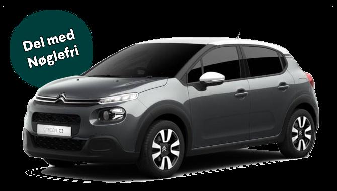 Billig privatleasing af Citroën C3 1.2 Puretech 82HK Cool  | GoMore