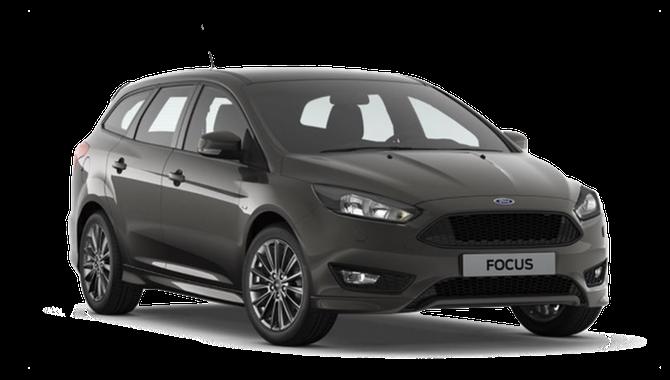 Billig privatleasing af Ford Focus 1.0 EcoBoost 125 Business Stationcar | GoMore
