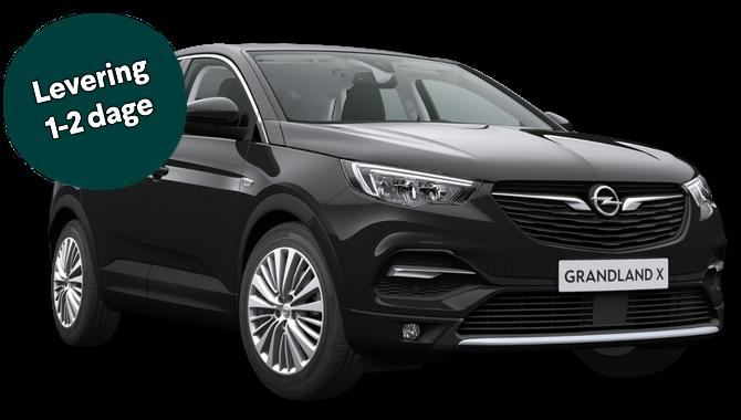 Billig privatleasing af Opel Grandland X Exclusive 1.2 130HK Automatgear | GoMore
