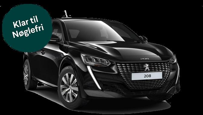 Billig privatleasing af Peugeot 208 Active+ 1.2 Puretech 100HK   GoMore