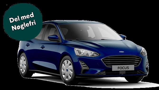Billig privatleasing af Ford Focus HB 1.0 EcoBoost 100HK Trend 5-DØRS | GoMore