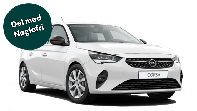 Billig privatleasing af Opel Corsa Cityline+ 1.5  100HK diesel    GoMore