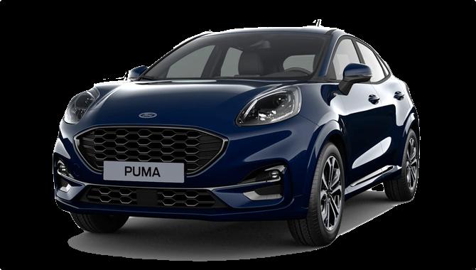 Billig privatleasing af Ford Puma 1.0 Ecoboost Hybrid 125HK  | GoMore