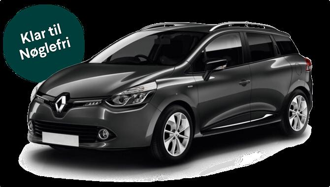 Billig privatleasing af Renault Clio 0.9 TCE 90HK Zen SW Benzin | GoMore