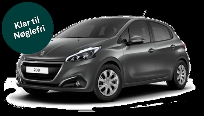 Billig privatleasing af Peugeot 208 Emotion+ 1.2 PureTech 82 HK | GoMore