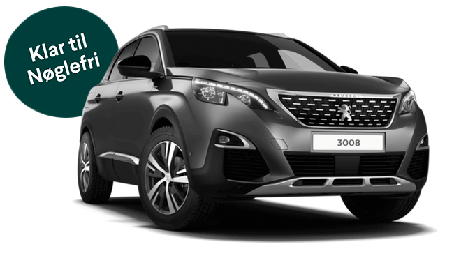 Billig privatleasing af Peugeot 3008 Allure Limited PureTech 130HK EAT8 | GoMore