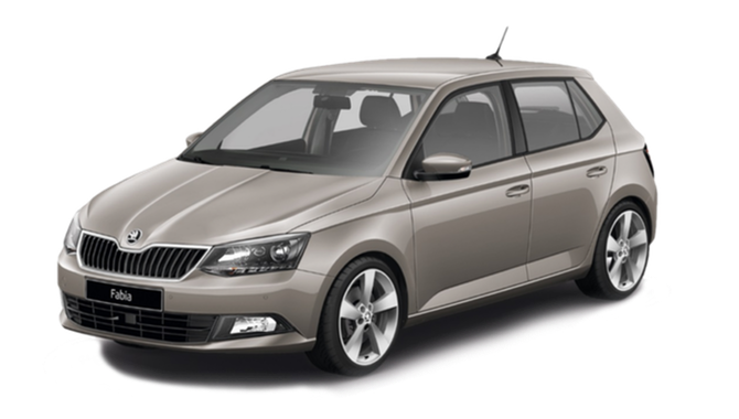 Billig privatleasing af ŠKODA Fabia Hatchback Active 1,0 MPI 75 hk | GoMore