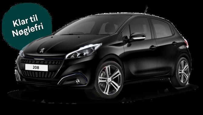 Billig privatleasing af Peugeot 208 Prestige 1.5 BlueHDi 100 HK  | GoMore