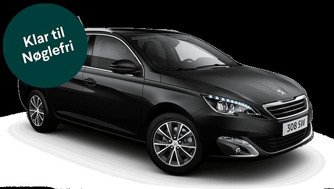 Billig privatleasing af Peugeot 308 SW Style 1,2 Puretech 130hk  | GoMore