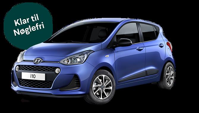Billig privatleasing af Hyundai i10 1.0 ECO Trend 4-pers | GoMore
