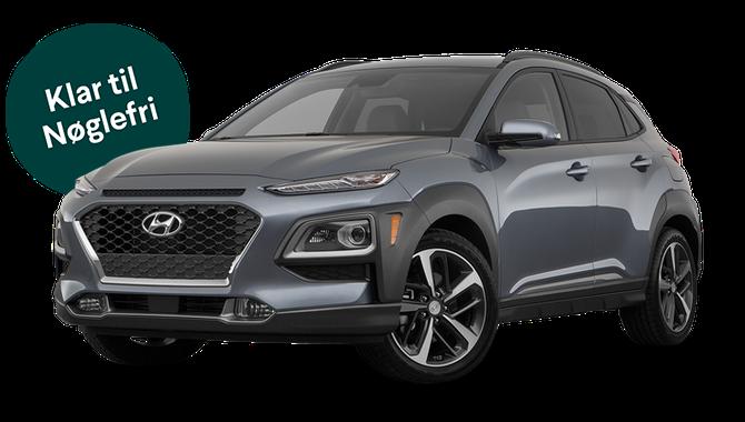 Billig privatleasing af Hyundai Kona 1.0 T-GDi Trend | GoMore