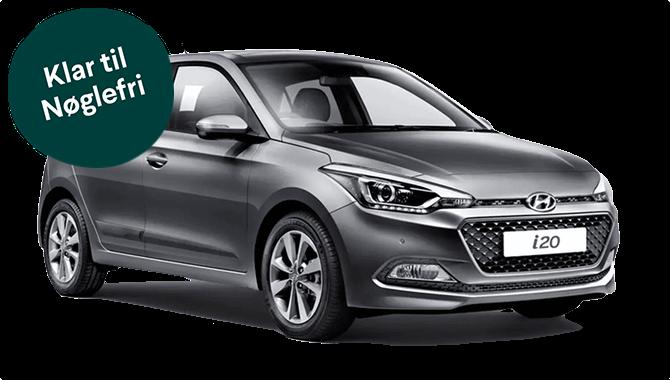 Billig privatleasing af Hyundai i20 1.0 100hk DCT7 Trend | GoMore