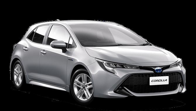 Prisvärd privatleasing från Toyota Corolla 1,8 Hybrid, eller motsvarande | GoMore