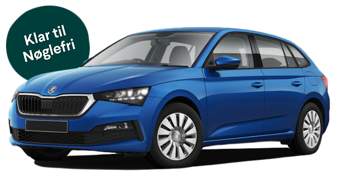 Billig privatleasing af ŠKODA Scala Ambition 1.6 TDI 115 HK DSG7 | GoMore