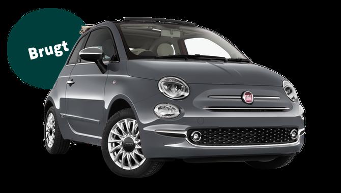 Billig privatleasing af Fiat 500C 0.9 80 HK | GoMore
