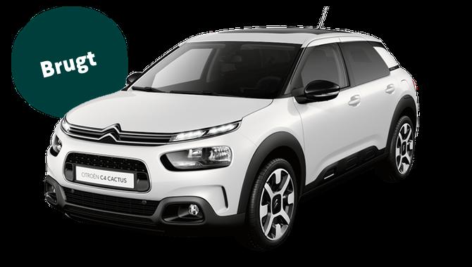 Billig privatleasing af Citroën C4 Cactus 1.2 Puretech 82 HK   GoMore