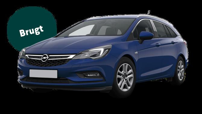 Billig privatleasing af Opel Astra 1.6 CDTi diesel 136 HK Sports Tourer Aut. | GoMore