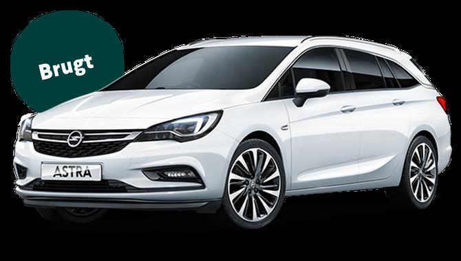 Billig privatleasing af Opel Astra 1.4 Turbo benzin 150 HK Sports Tourer Aut. | GoMore
