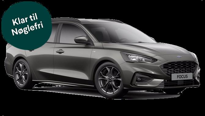Billig privatleasing af Ford Focus 1.0 Ecoboost ST-Line Business 125 HK SW | GoMore